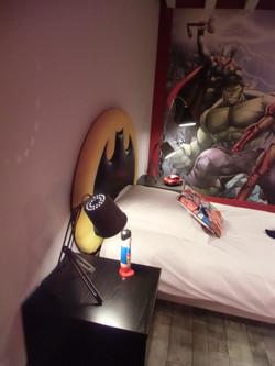 tete de lit batman sur mesure