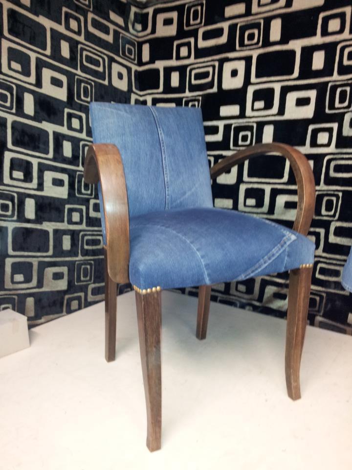 fauteuil bridge en jean d&co