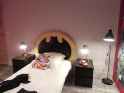 tête de lit Batman dco-design