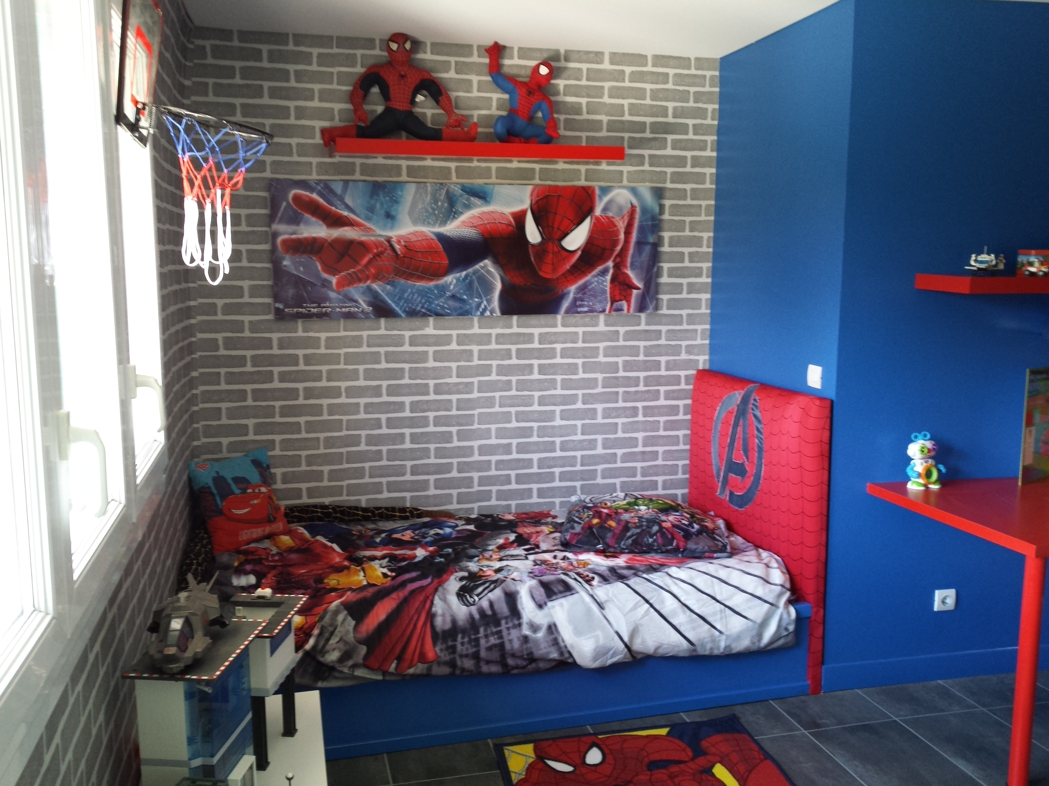 tête de lit spiderman by DCO-Design