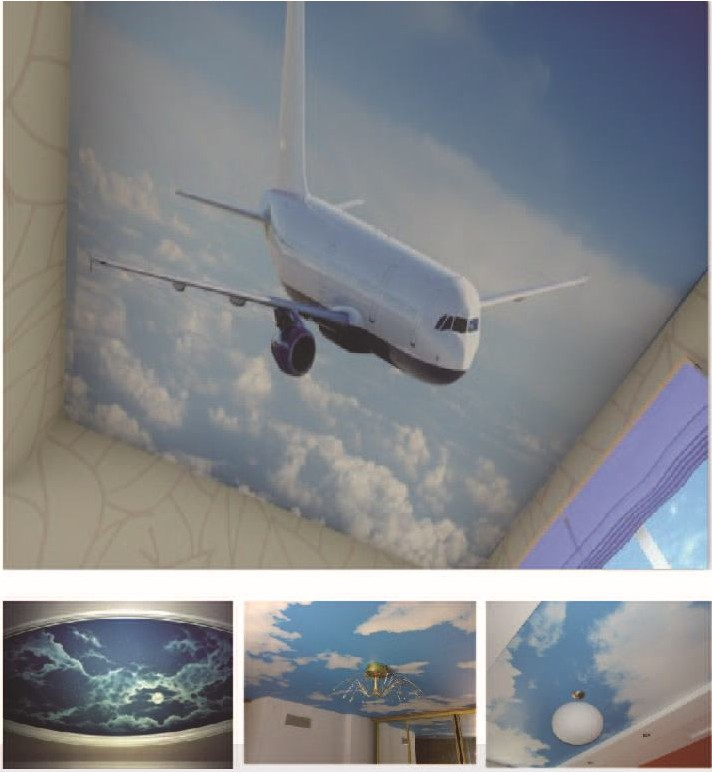 plafond tendu dco-design avion