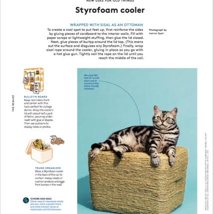 styrofoam cooler