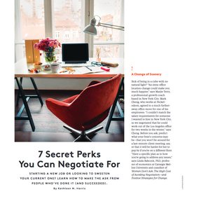 7 secret perks to ask for