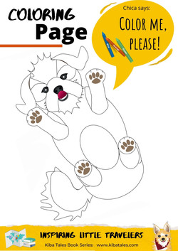 Chica Coloring Page