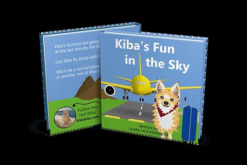 Kiba's Fun in the Sky Front and Back Cov