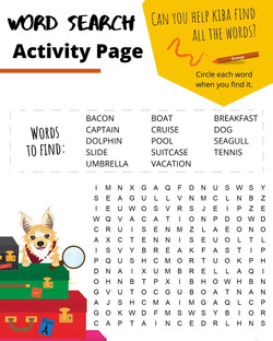 Cruise Word Search