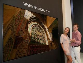 LG Electronics presentará la televisión 8K OLED de 88 pulgadas en la IFA