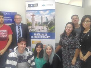 Dr. Antonio Doménech visita la Universidad Central de Chile
