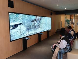 Biblioteca multimedia presenta el patrimonio cultural a través de la alta tecnología.