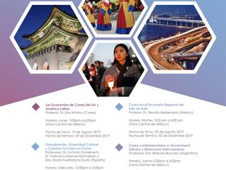 Korea Foundation e-School Program para América Latina - Agosto 2019