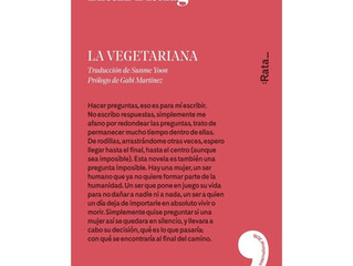 'La vegetariana' de Han Kang recibe un premio literario español