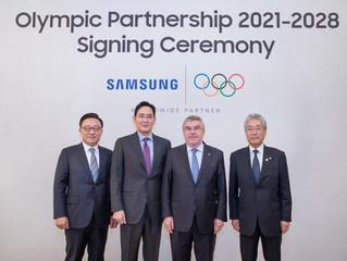 Samsung extiende la asociación olímpica por 8 años hasta el 2028