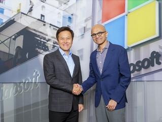 SK Telecom y Microsoft firman un MOU sobre 5G, IA y la informática en la nube