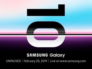 Samsung presentará su Galaxy S10 en San Francisco el próximo mes