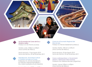 Cursos del KF Global e-School Program, para agosto – diciembre 2019