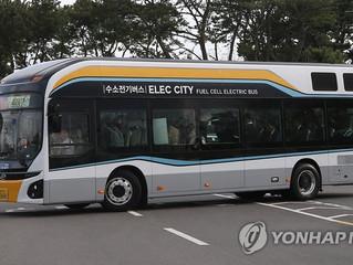 El Gobierno quiere operar 2.000 autobuses de hidrógeno en las carreteras surcoreanas para el 2022