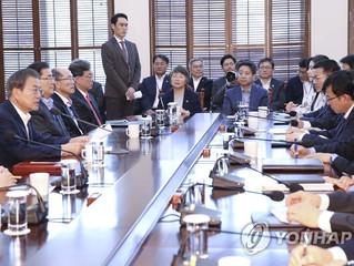 Moon promete un impulso firme para la paz, innovación y equidad durante el resto de su presidencia