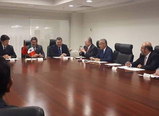 Reunión para vinculación entre la Universidad Autónoma de Nuevo León y la Universidad de Nanjing
