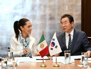 Seúl y la Ciudad de México firman un pacto para una relación estratégica y mutuamente beneficiosa