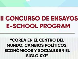 """Anuncio Oficial de Ganadores del 3er Concurso de Ensayos del e-School Program: """"COREA EN EL CENTRO D"""