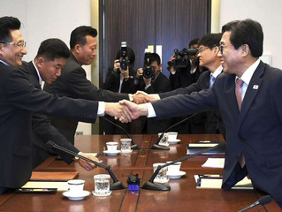 Las dos Coreas formarán equipos unificados para algunos eventos en los Juegos Asiáticos de Indonesia