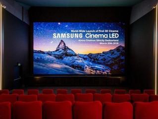 La solución led para cines de Samsung es utilizada en casi 10 países