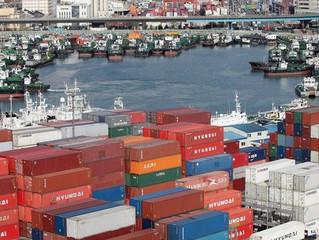 Las exportaciones de Corea del Sur aumentan un 2 por ciento en los 10 primeros días de junio