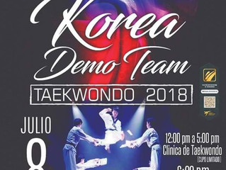 Korea Demo Team llegó a Monterrey
