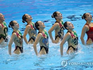 Corea del Sur alcanza la final en natación sincronizada en 10 años