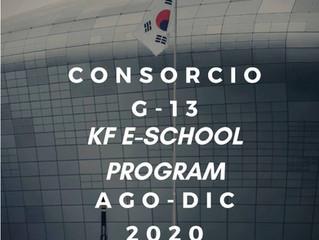 Consorcio G-13 del Korea Foundation Global e-School Program for Latin America (semestre agosto-dicie