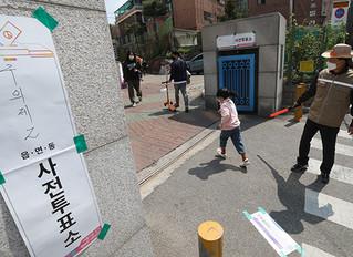 Corea bate récord histórico de votación anticipada en tramo de horas.
