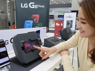 LG lanzará el teléfono inteligente G8 ThinQ el 22 de marzo