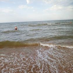Вот так нас встретило море вчера после 1