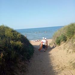А вот такое море сегодня, час назад, пос