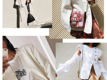 GET THE LOOK: THE WHITE BLAZER