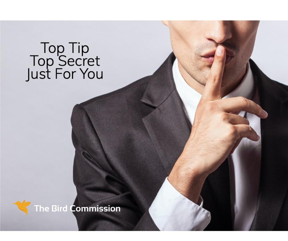 Top Tip via Email