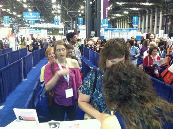 Jenn Flaa Signing Books in NYC