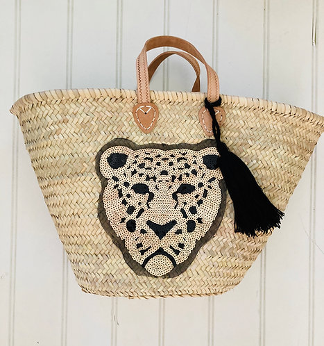 Leopard Basket