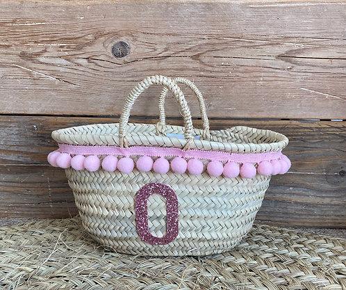 Girls PomPom basket