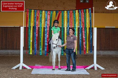 Lucky Horse Flattervorhang - breit (GHP)
