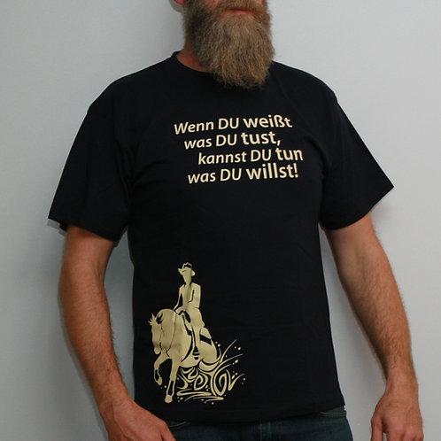 Herren T Shirt mit Spruch