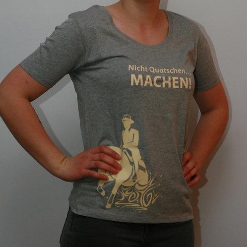 Rundhals Damen T-Shirt mit Spruch