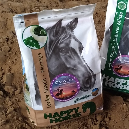 Lecker-Snacks Moringa getreidefrei von Happy Horse