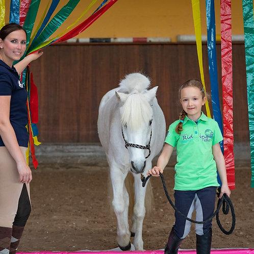 Lucky Horse Flattervorhang