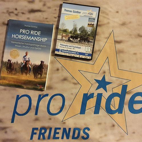 "Bundle ""pro ride Buch & DVD"""