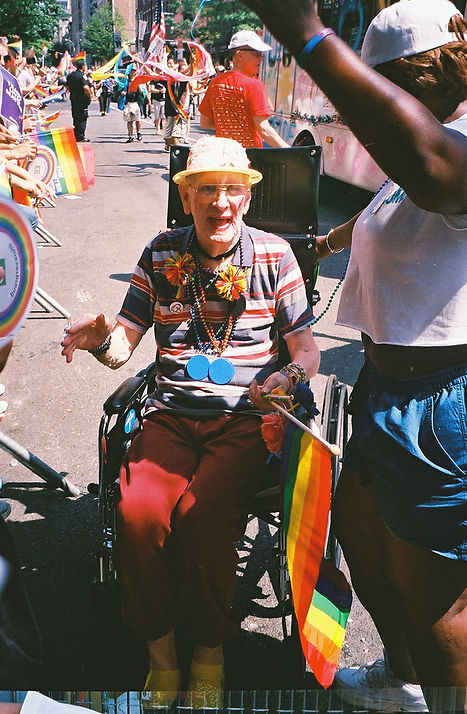 New York CITY NYC PRide parade. Photo by Michael Burk