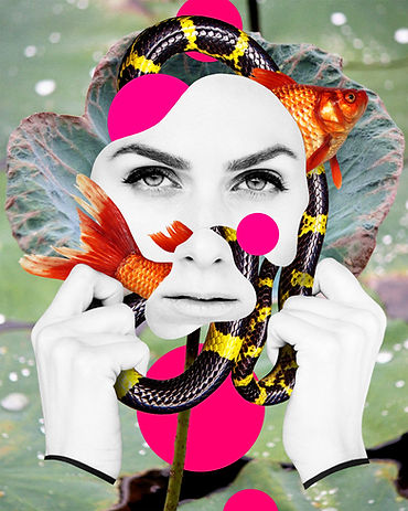Digital collage by Michael Burk