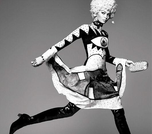 Gigi Hadid_Vogue Italia_Photo by Steven
