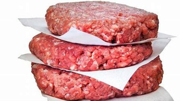 Hamburger Rind gewürzt 120g/Stk (CH)