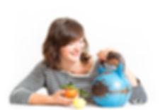 Training Ernährung Kettlebell Essen Zitrone